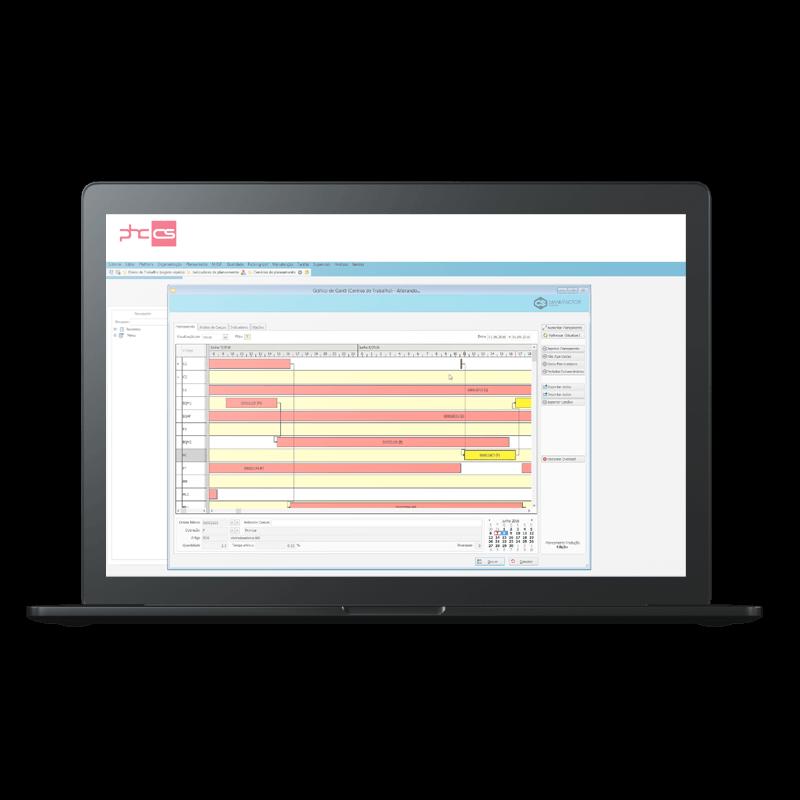 PHC Software - Indústria e Produção Funcionalidades
